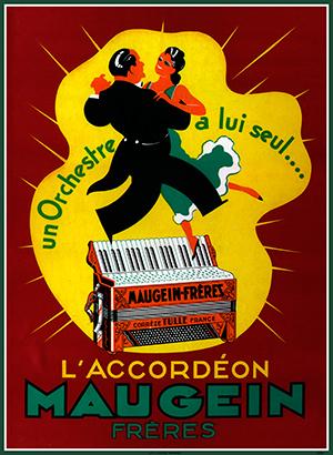 Affiche Maugein
