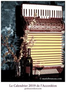 Calendrier de l'accordéon 2019