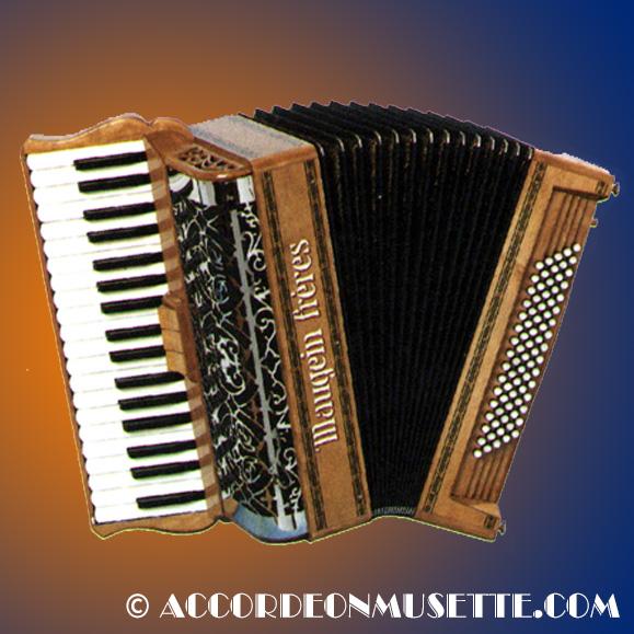 Accordéon Piano Maugein