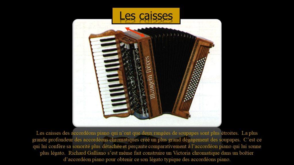 Caisse d'accordéon Maugein