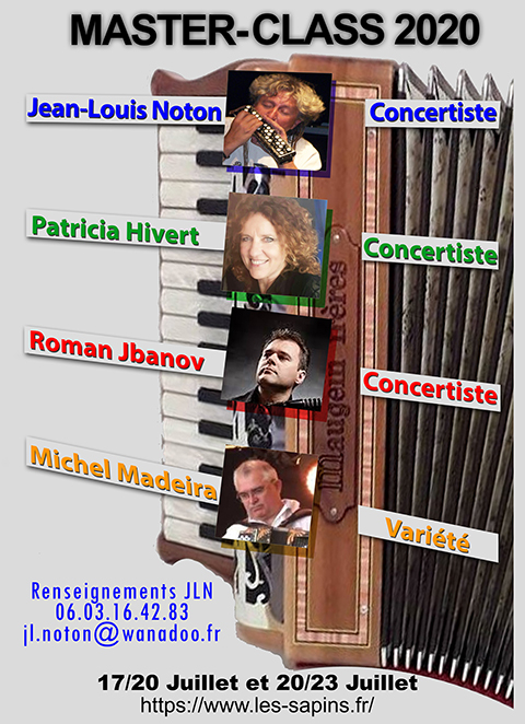 Stage d'accordéon